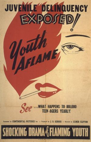 Youth Aflame Poster