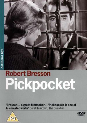 Pickpocket Dvd cover