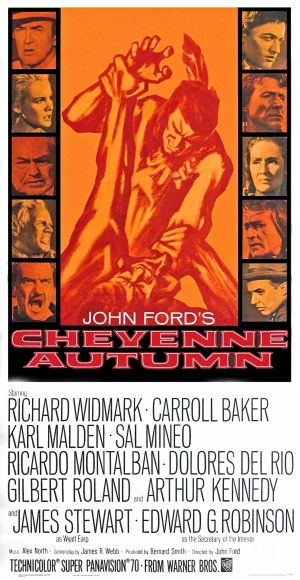 Cheyenne Autumn Theatrical poster