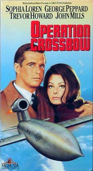 Operation Crossbow Vhs cover