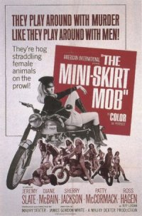 The Mini-Skirt Mob poster