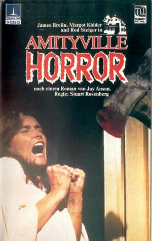 The Amityville Horror Vhs cover