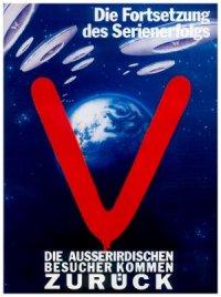 V - Die außerirdischen Besucher kommen poster
