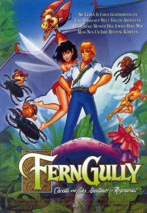 FernGully: The Last Rainforest Vhs cover