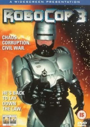 RoboCop 3 Dvd cover