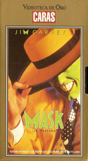The Mask Vhs cover