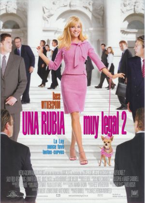 Legally Blonde 2: Red, White & Blonde 1676x2338
