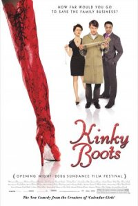 Kinky Boots - Man(n) trägt Stiefel poster