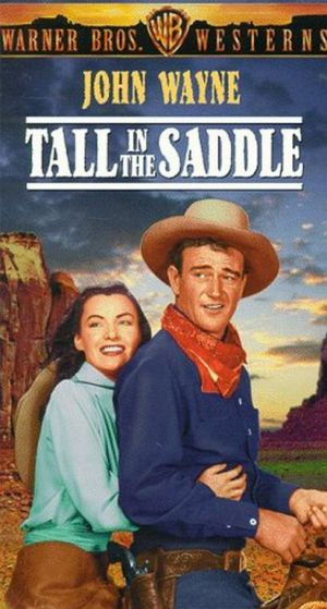 Tall in the Saddle Vhs cover