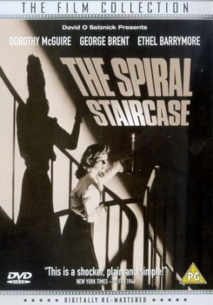The Spiral Staircase Dvd cover