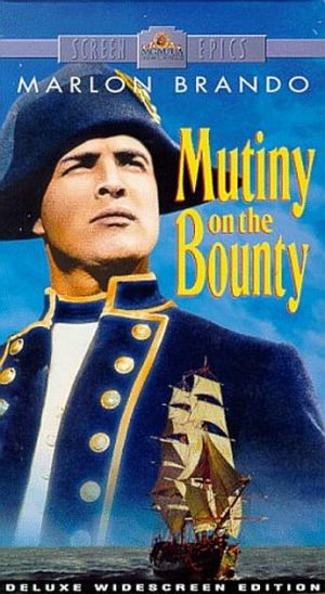 Mutiny on the Bounty Vhs cover