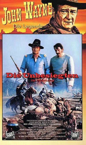 The Undefeated Vhs cover