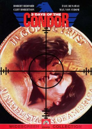Three Days of the Condor Dvd cover