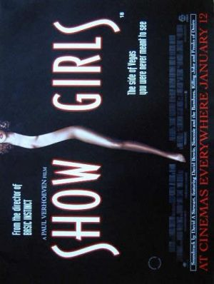 Showgirls Advance poster