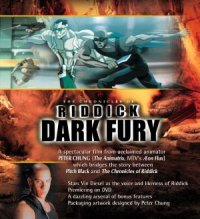 The Chronicles of Riddick: Dark Fury poster