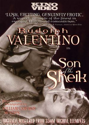 The Son of the Sheik Dvd cover