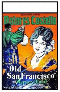 Old San Francisco poster