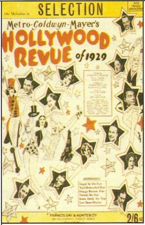 The Hollywood Revue of 1929 706x1095