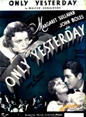 Only Yesterday 549x742