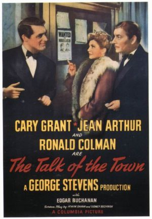 The Talk of the Town Poster