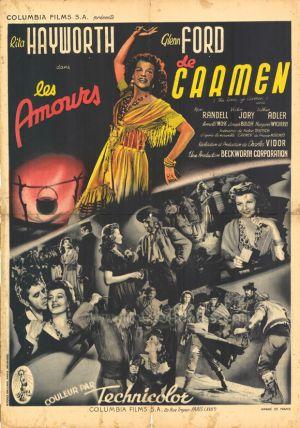 The Loves of Carmen 580x827