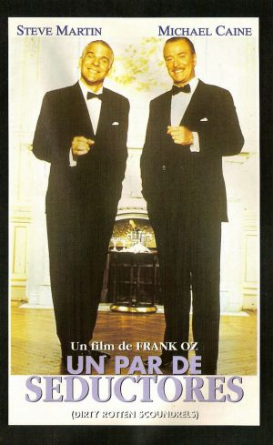 Dirty Rotten Scoundrels Vhs cover