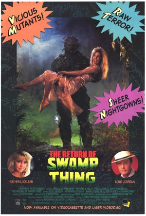 The Return of Swamp Thing 730x1080