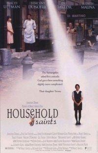 Household Saints poster