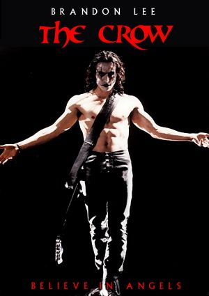 The Crow Dvd cover