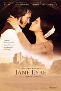 Charlotte Bronte's Jane Eyre poster