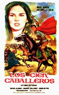 I cento cavalieri poster
