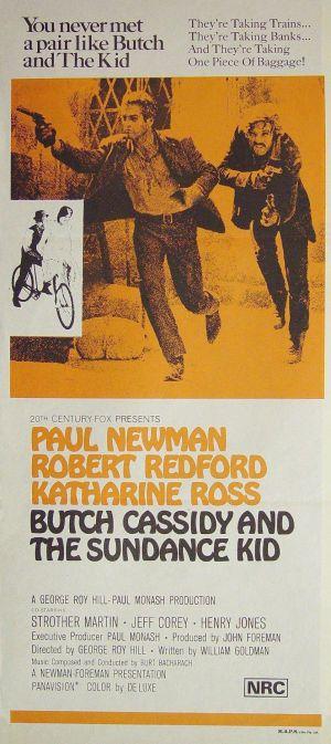 Butch Cassidy and the Sundance Kid 838x1881