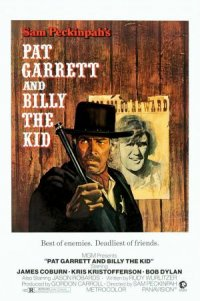 Pat Garrett och Billy the Kid poster