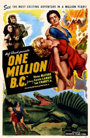 One Million B.C. 649x1000