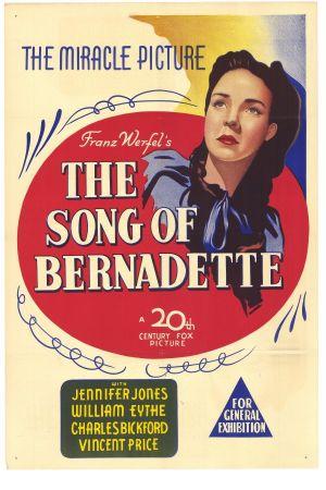 Sangen om Bernadette 600x900