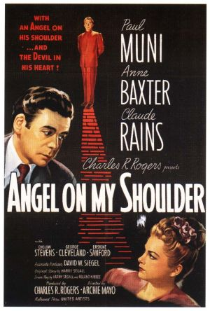 Angel on My Shoulder Poster