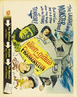 Bud Abbott Lou Costello Meet Frankenstein 2800x3548