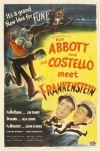 Bud Abbott Lou Costello Meet Frankenstein poster