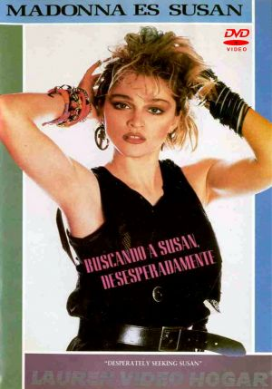 Desperately Seeking Susan Dvd cover