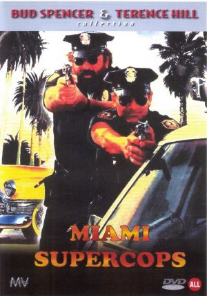 Miami Supercops Dvd cover