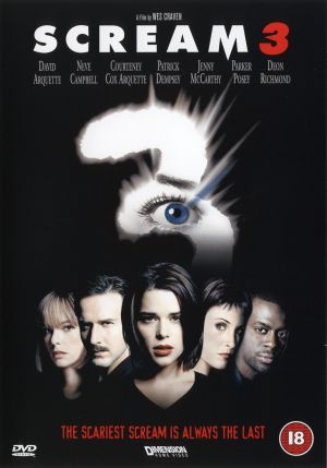 Scream 3 Dvd cover