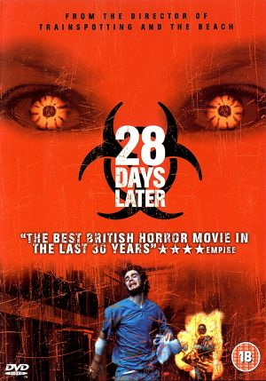 28 Days Later... Dvd cover
