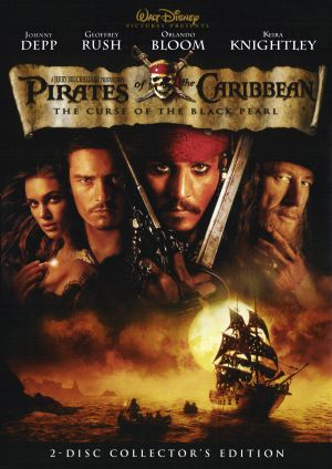 Pirates of the Caribbean: The Curse of the Black Pearl 1600x2260
