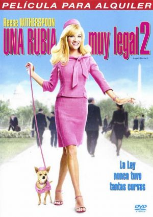 Legally Blonde 2: Red, White & Blonde 706x1000