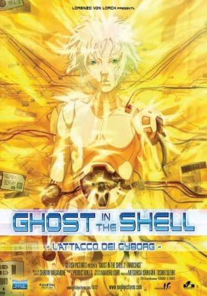 Ghost in the Shell 2 - Innocence 496x707
