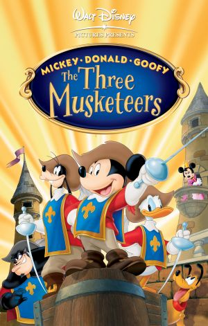 Mickey, Donald, Goofy: The Three Musketeers 2216x3480