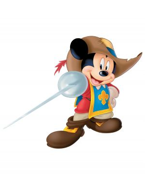Mickey, Donald, Goofy: The Three Musketeers 1275x1616