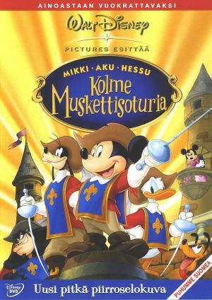 Mickey, Donald, Goofy: The Three Musketeers 754x1066