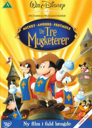 Mickey, Donald, Goofy: The Three Musketeers 714x996