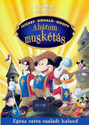 Mickey, Donald, Goofy: The Three Musketeers 713x1000